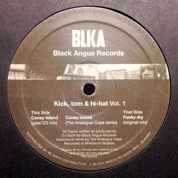 """ Kick, tom & hi-hat Vol. 1 """