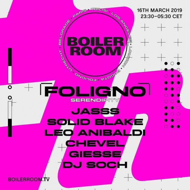 """Dj Soch for Boiler Room-Foligno"""